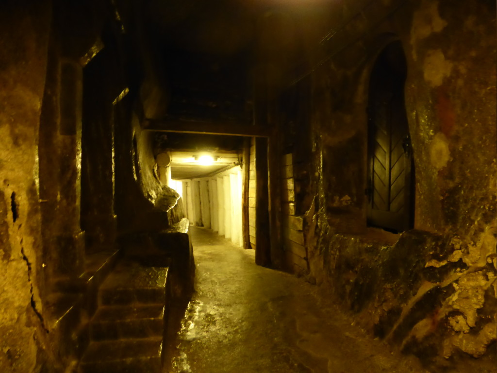 Passageway in the mine