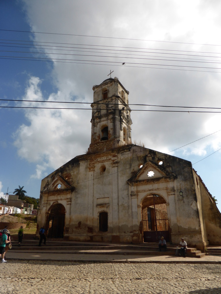 The remains of a beautiful old Church in Trinidad