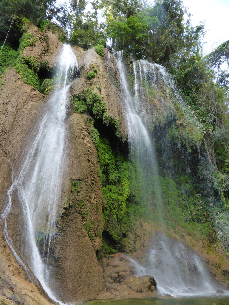 Salto de Rocio waterfall