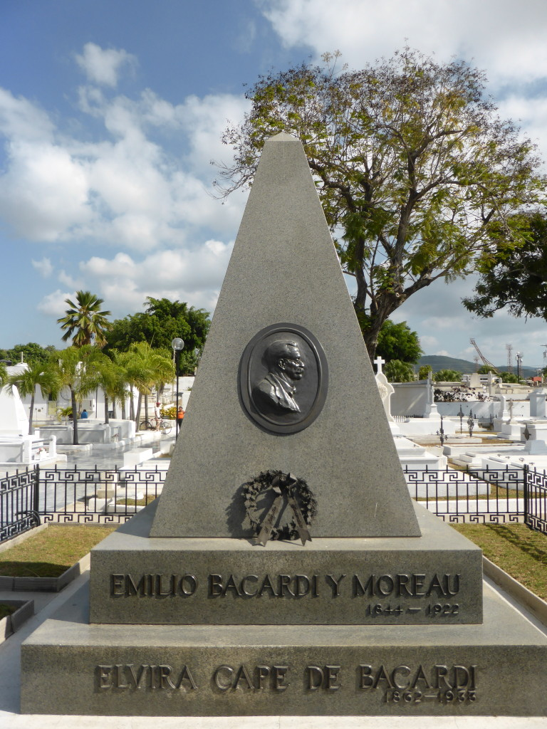 The monument to Emilio Barcardi