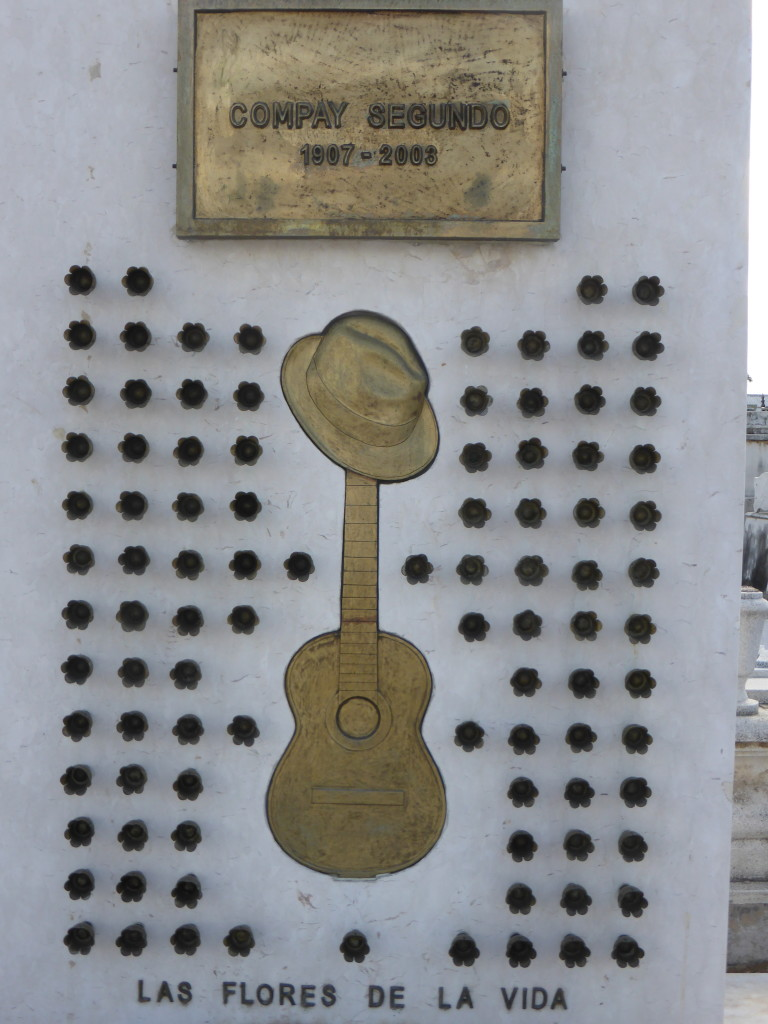 The monument to Compay Segundo