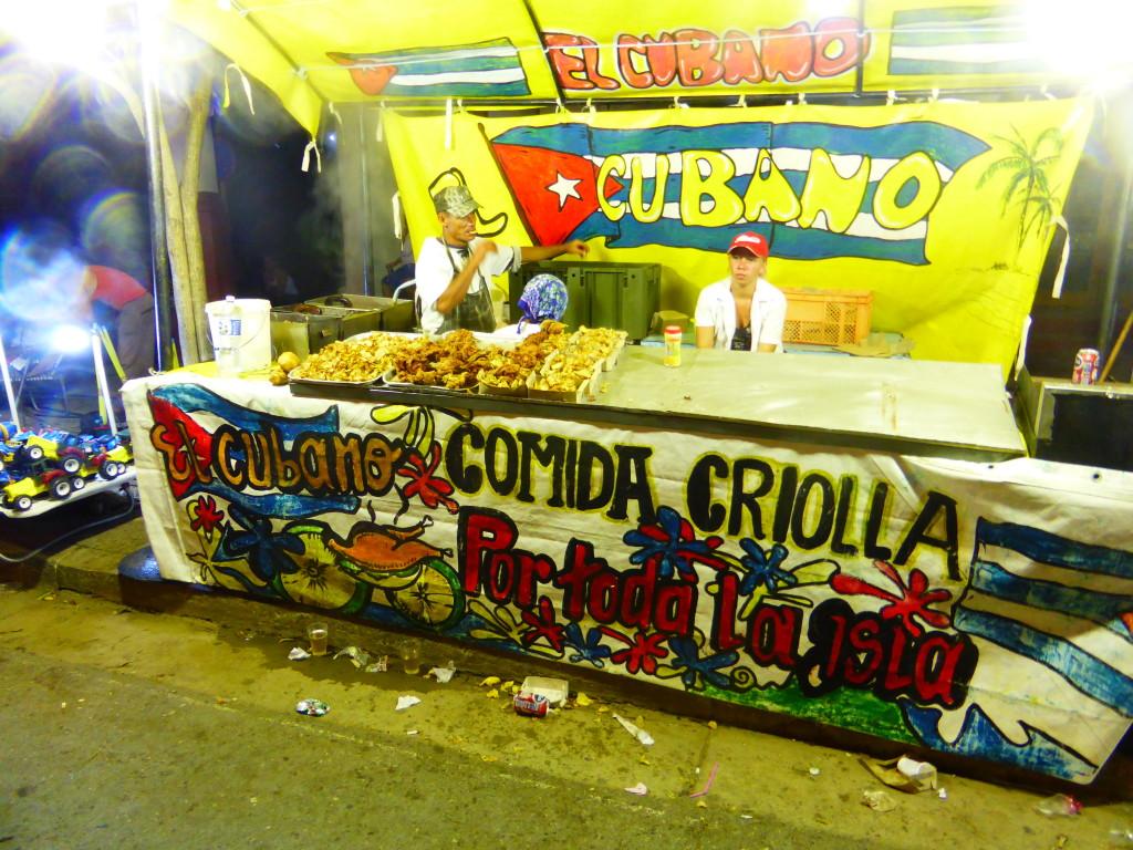 Street food Cuban style