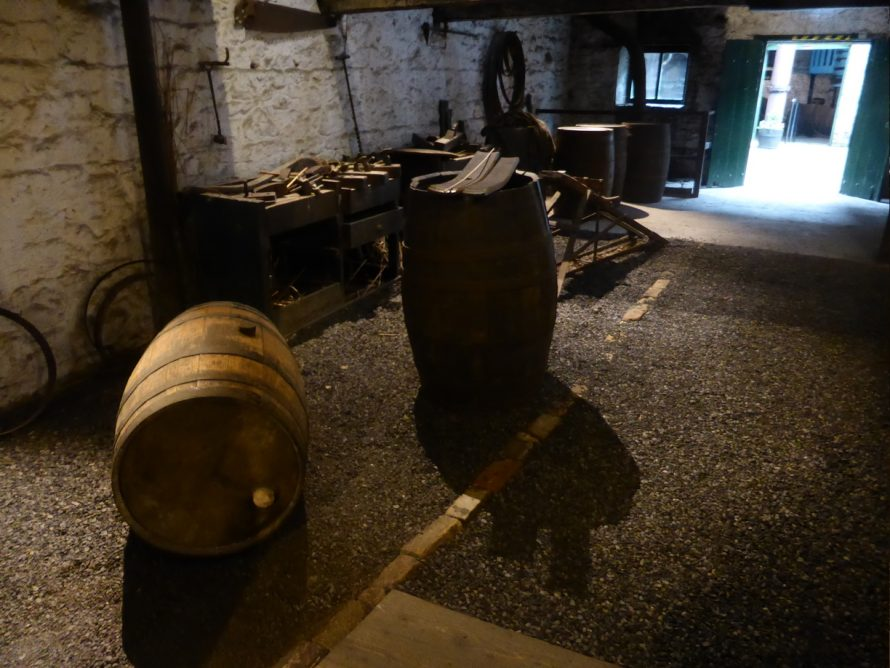 Coopering room