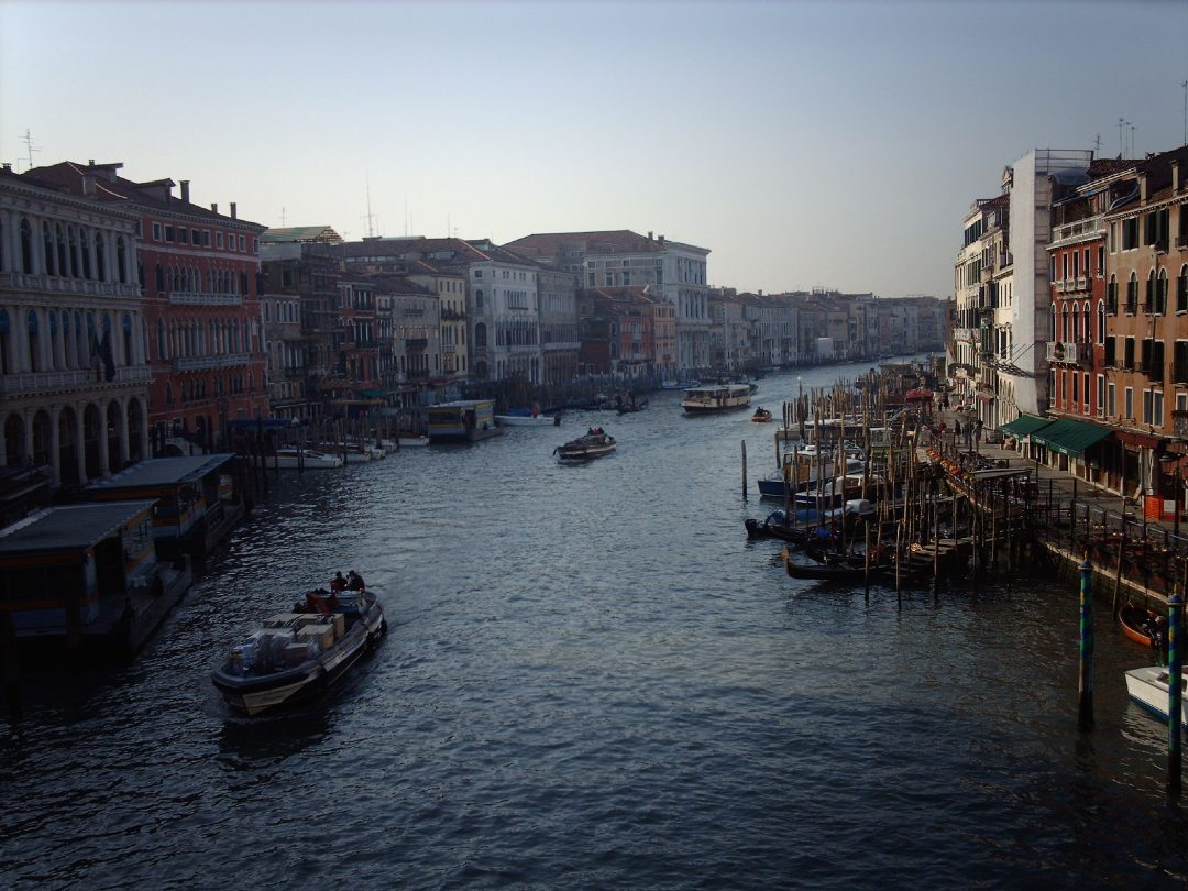 The Grand Canal, Venice in December