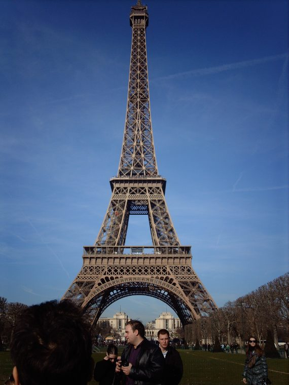 The Eiffel Tower, but you already knew that. Go early to beat the queues