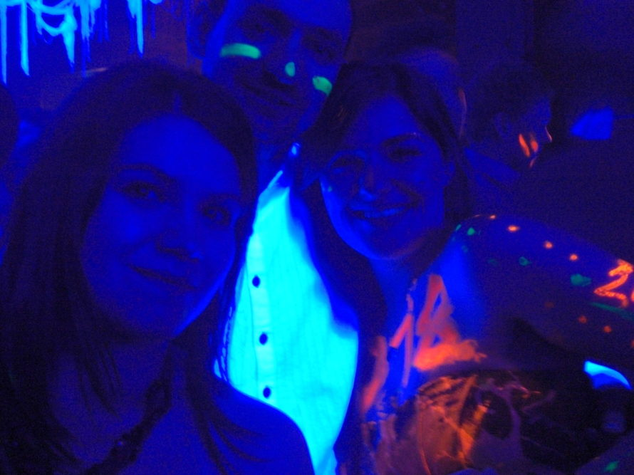 Partying on New Years Eve in Stockholm with Janina and Sarah from Germany