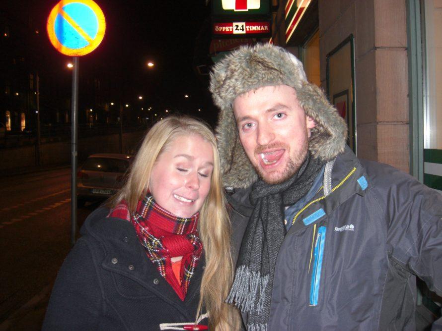 Bar crawl with Annie