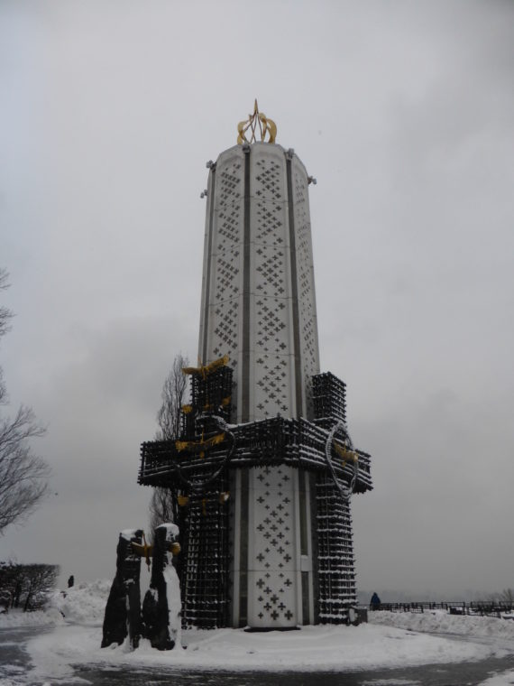 Holodomor Monument - In the shape of a candle
