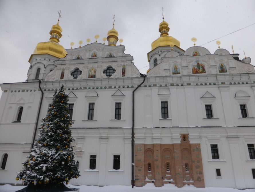 The Lavra complex has a lot of buildings. You could easily spend a full day here