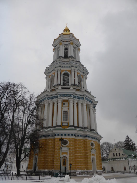 Tower at Lavra