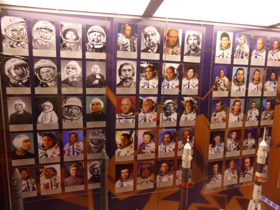Photos of people who have been in space.....