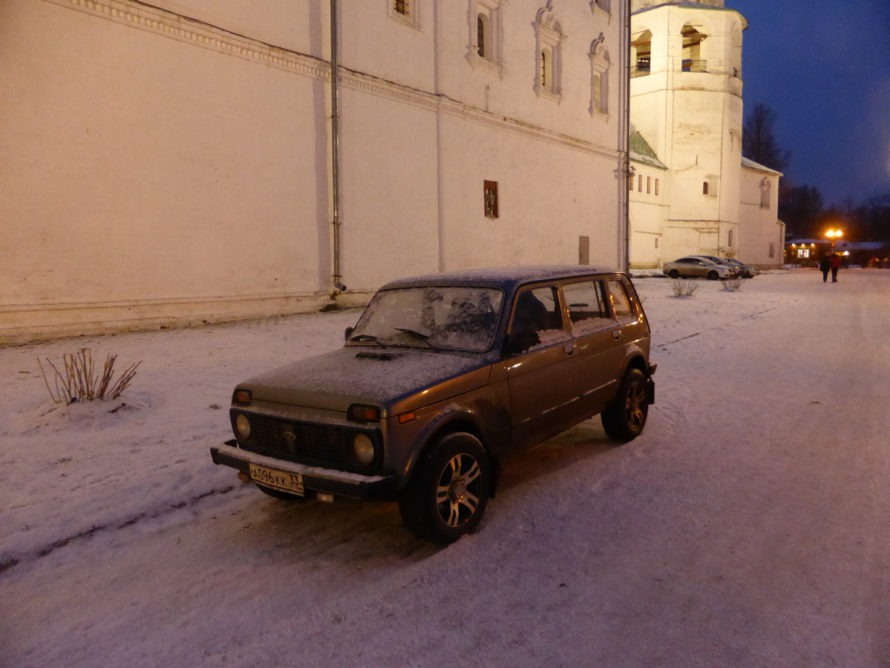 Old soviet-era cars are still everywhere in Russia