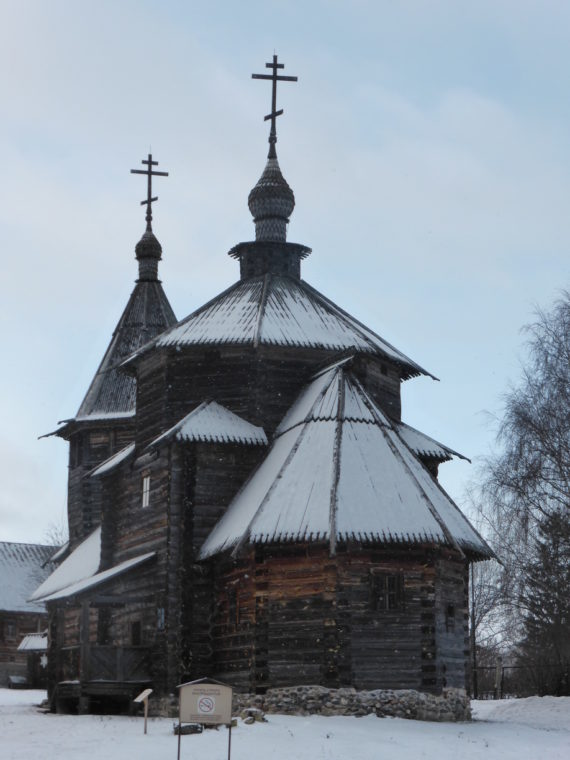 It is common in Russia to have a church for summer months and another for winter