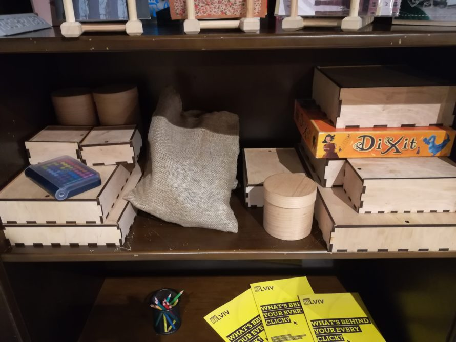 A collection of board games
