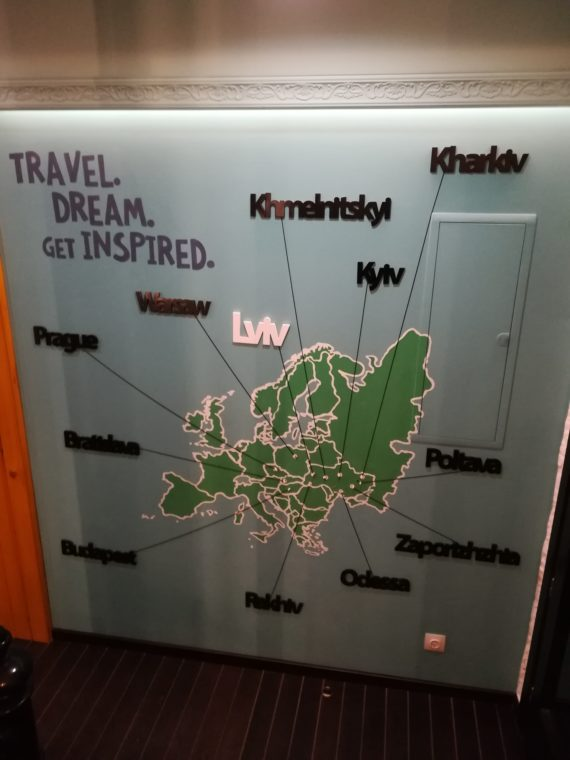 Map of other dream house hostels