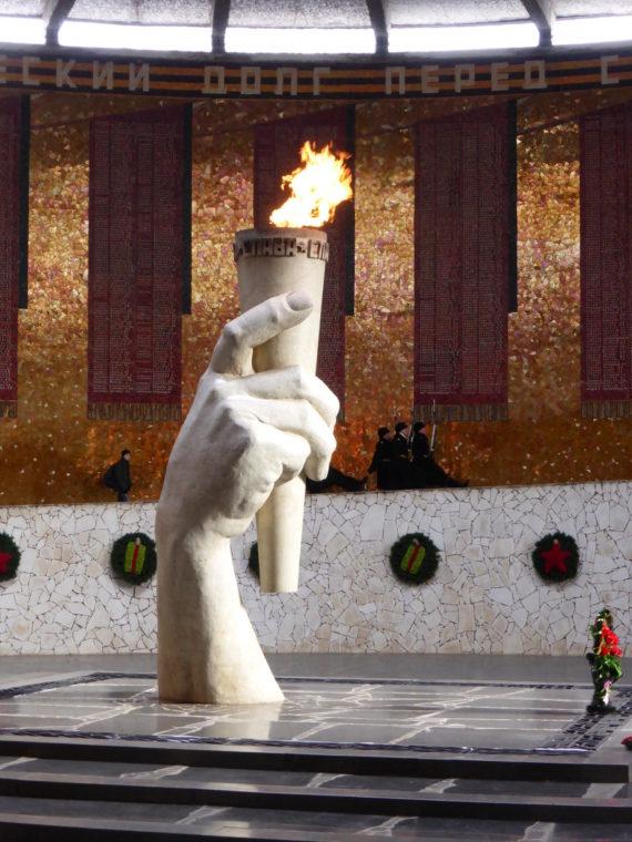 Mamayev Kurgan Memorial in Volgograd