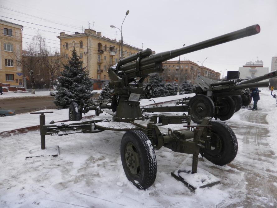 85mm anti-aircraft gun 52-k