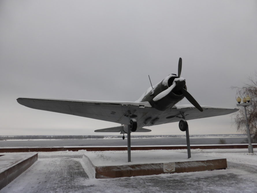 SU-2 airplane